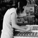 Girl Making A Cake @ Malaysia