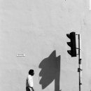 Shadow Of The Traffic Signal @ Malaysia
