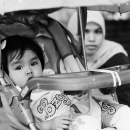Infant On The Baby Buggy @ Malaysia