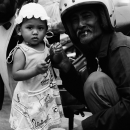 Girl And Grandfather @ Malaysia