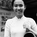 She Wore A Smile And Ao Dai @ Vietnam