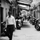 Man Looking Down In The Lane @ Vietnam