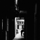 Figure In The Lane