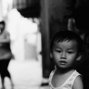 Bewildered Boy In The Lane @ Vietnam