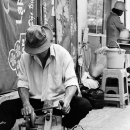 Man Sharpening @ Vietnam