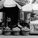 Fruiterer In A Corner Of A Street @ Vietnam