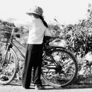 Bicycle And Girl @ Vietnam