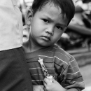 Questioning Eyes Of A Little Boy @ Vietnam