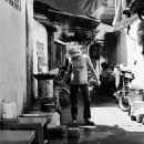 The Alley Was A Food Stall @ Vietnam