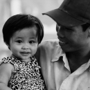 Cute Smile Of His Daughter @ Vietnam