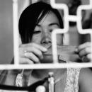 Woman Doing Sideline Work @ Vietnam