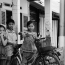 Three Kids And A Bicycle