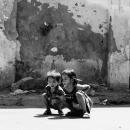 Two Kids Bending Over @ Vietnam