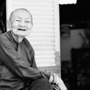 Smile Of A Shaven-headed Woman @ Vietnam