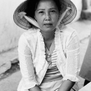 Small Talk With A Conical Hat @ Vietnam