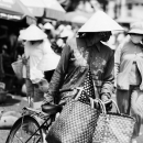 Conical Hat In The Market @ Vietnam