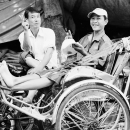 Peace Sign Of Rickshaw Men @ Vietnam