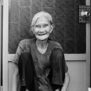 Experienced Smile Of An Older Woman @ Vietnam