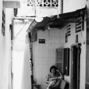 Reading A Book In The Lane @ Vietnam