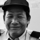 Man Wearing The Uniform With Epaulets @ Vietnam