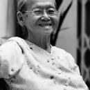 ある老婦人の笑顔