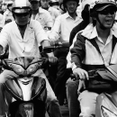 People Ride Motorbikes