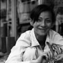 Woman Smiles In Front Of My Camera @ Vietnam