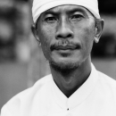 Man With A White Clothes @ Indonesia