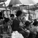 Women At Stalls