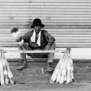 Broom Seller