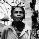 An Old Man @ Indonesia