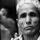 Face Of A Man @ Nepal