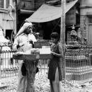 Street Stall Selling Roast Beans