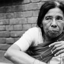 Older Woman Looking Away