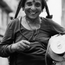 Laughing Woman With A Bindi