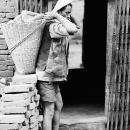 Laborer Was About To Carry @ Nepal