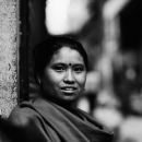 Woman In The Street @ Nepal