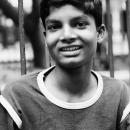 Boy Wearing A Levi's T-shirt @ Nepal