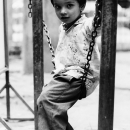 Boy On The Chain