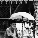 Man Under The Umbrella @ Nepal