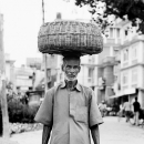 Look Of Amazement And A Big Basket On The Head