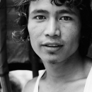 Rickshaw Wallah With Curly Hair @ Nepal