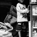 Boy In The Storefront @ Nepal