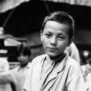 Boy In The Street @ Nepal