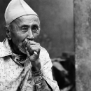 Man Smokes A Cigarette @ Nepal