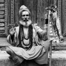 Sadhu Stroke A Pose @ Nepal