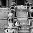 Stairway Of Nyatapola Temple @ Nepal