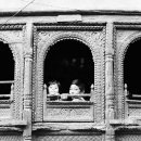 Children By The Window @ Nepal