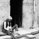 Nap In The Alleyway @ Nepal