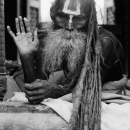 Long-haired Sadhu @ Nepal